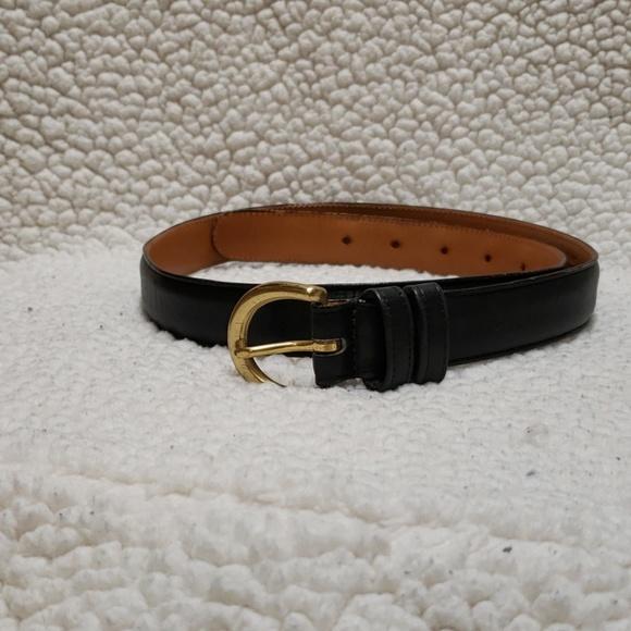 8fb421b7b051 Coach Accessories - Black Coach Belt